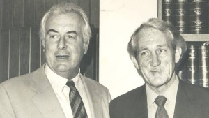 Whitlam & Uren, 1976-77 (Newcastle Herald)