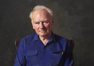 A portrait of Stretton by Robert Hannaford, which won the Peoples Choice Award in the 1991 Archibald Prize.
