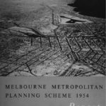 Cover of 'Melbourne Metropolitan Planning Scheme 1954', Victorian State Government.